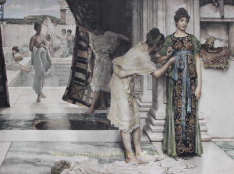 The Frigidarium – Lawrence Alma-Tadema, 1891