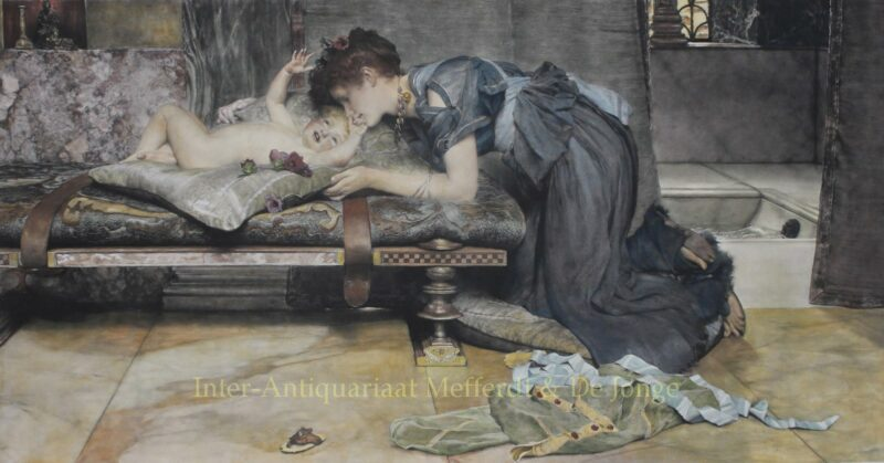 An Earthly Paradise – Lawrence Alma-Tadema, 1892