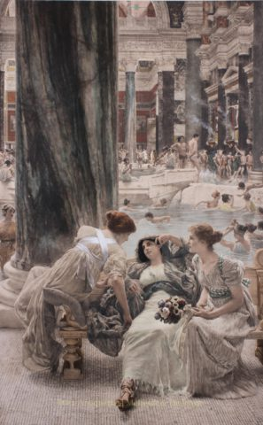 The Baths of Caracalla – Lawrence Alma-Tadema, 1900