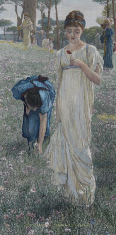 Spring – Lawrence Alma-Tadema, 1879