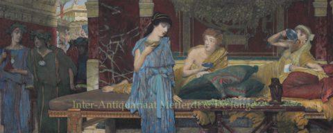 The Dinner – Lawrence Alma-Tadema, 1880