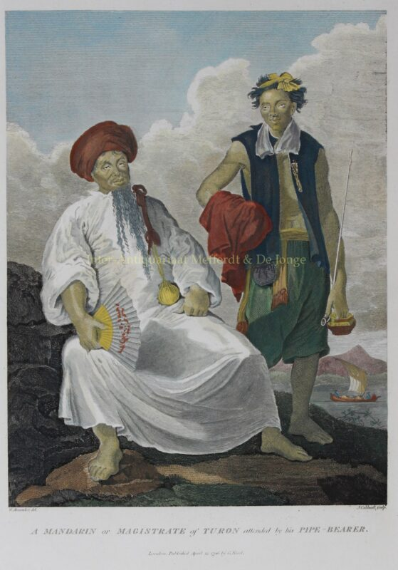 Cochinchina (Vietnam), Magistrate of Turon (Da Nang) – after William Alexander, 1796