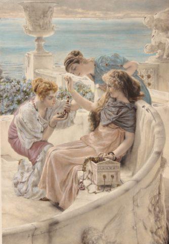 Fortune's Favourite – Lawrence Alma-Tadema, 1895