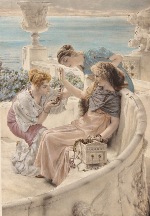 Fortune's Favourite - Sir Lawrence (Lourens) Alma-Tadema