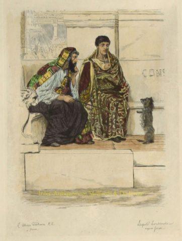 In the Time of Constantine – Alma-Tadema, 1878