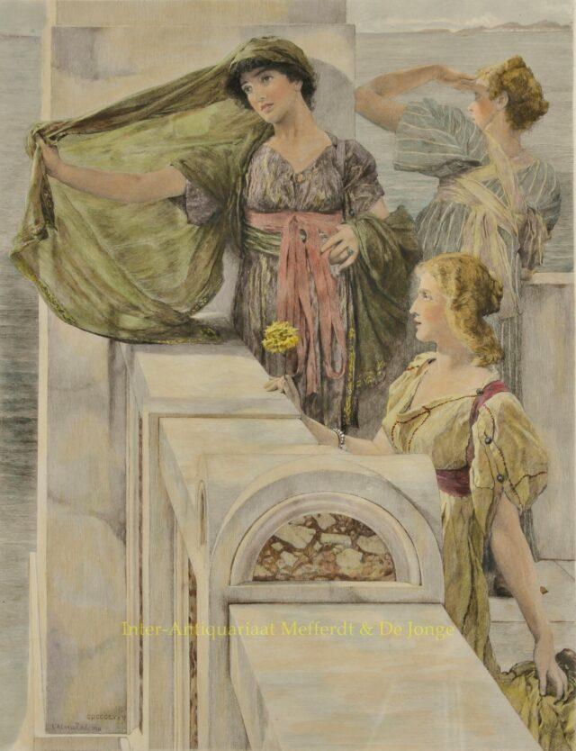 THE EVER NEW HORIZON - Alma-Tadema