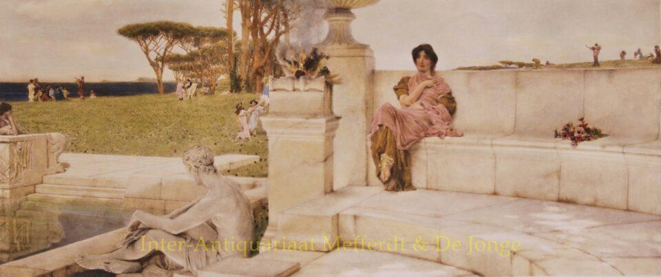 THE VOICE OF SPRING - Alma-Tadema