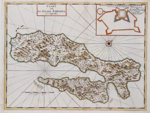 Ambon Island – François Valentijn, 1724-1726