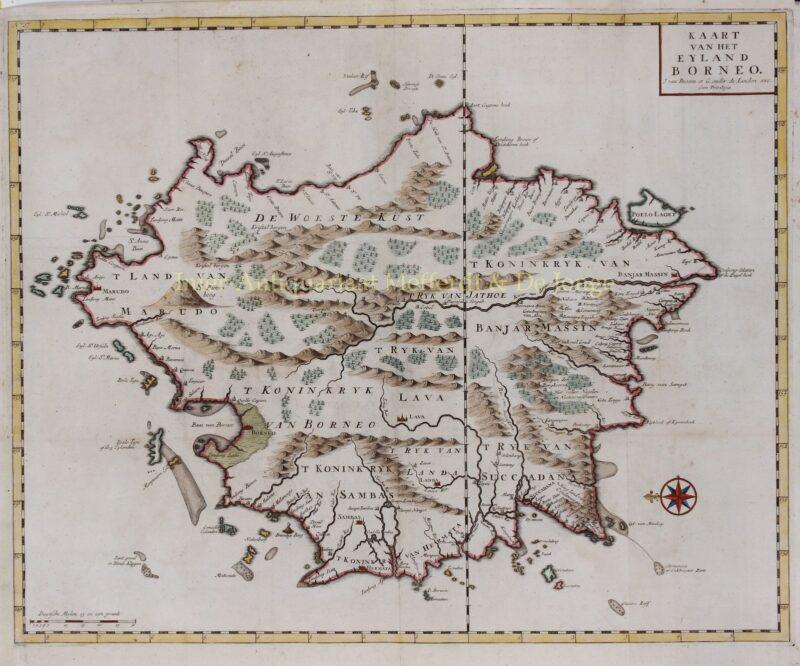 Borneo – François Valentijn, 1724-1726