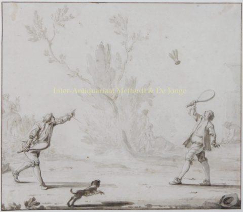 Badminton – Johann Heinrich Keller, 1743
