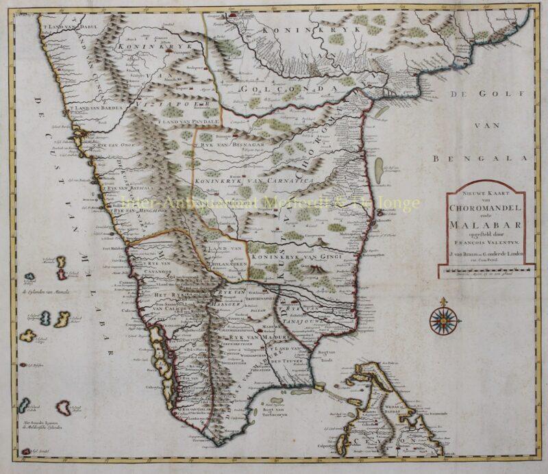 India – François Valentyn, 1724-1726