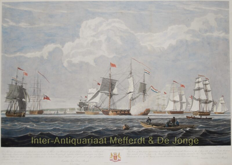 Dutch merchant ships – after John Christian Schetky, 1833