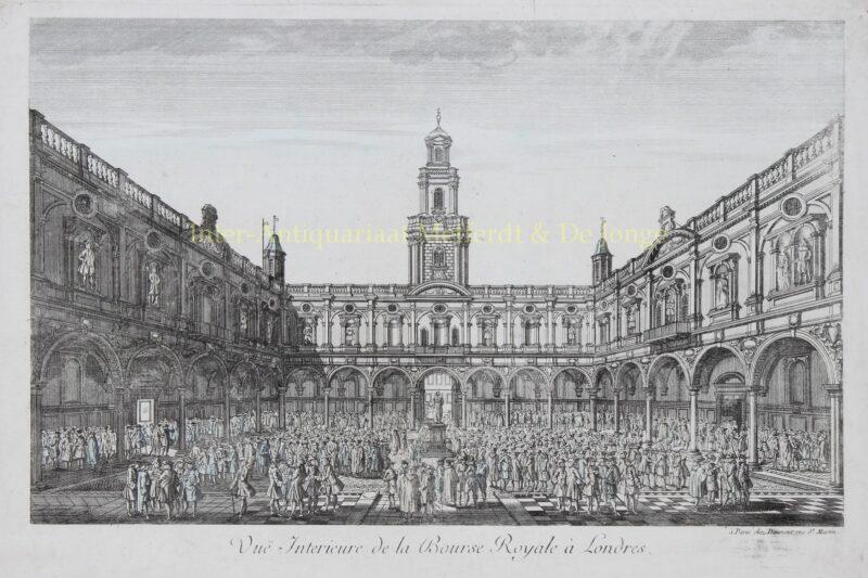 London, Royal Exchange – Daumont, ca. 1770