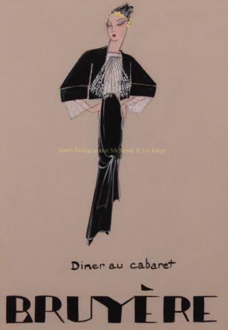 """Diner au cabaret"" – Madame Bruyère, 1930s"