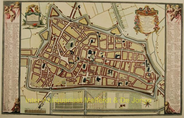 Utrecht plattegrond - Van Schoonhoven