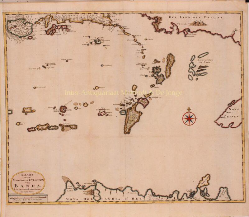 Moluccas, Banda Islands, Australia – François Valentijn, 1724-1726