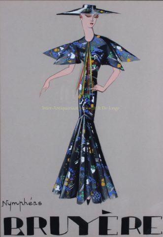 Fashion design – Marie-Louise Bruyère, jaren 1930
