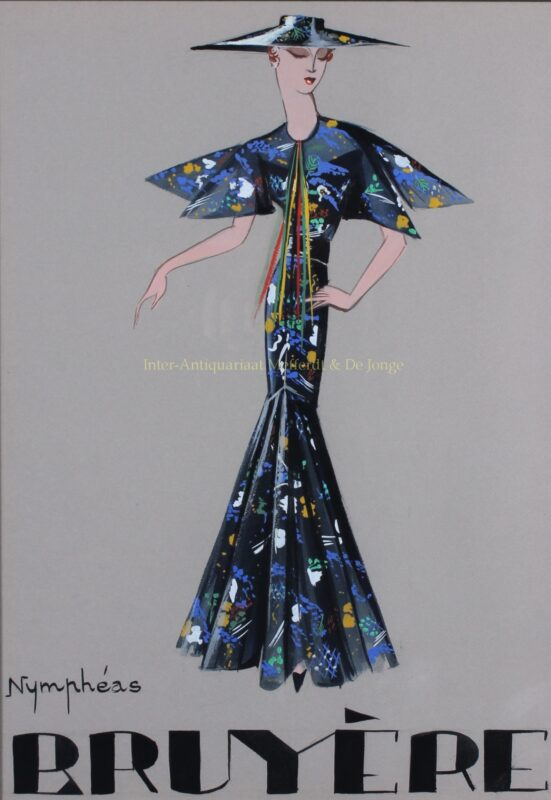 Fashion design – Marie-Louise Bruyère, jaren 1930