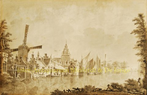 Aan de Oude Rijn – Dirk Verrijk