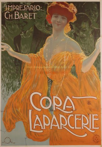 Cora Laparcerie – Aleardo Terzi, c. 1900