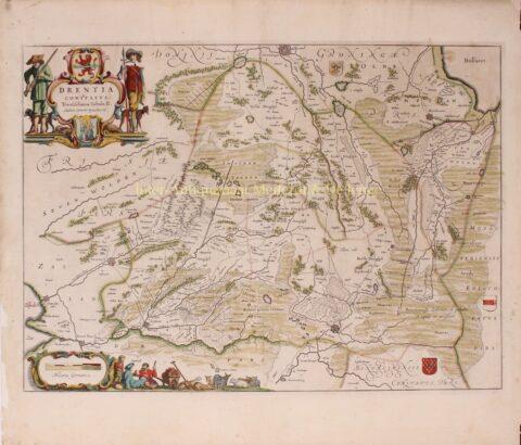 Drenthe – Joan Blaeu, 1662-1664