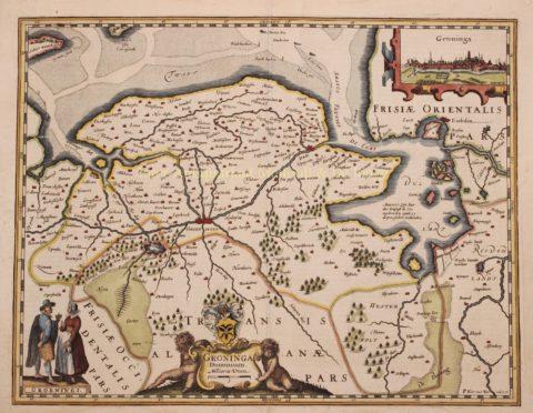 Groningen – Petrus Kaerius, 1622