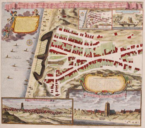 Egmond aan Zee – Johannes Rollerus/Petrus Schenk II, ca. 1735