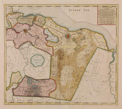 Gooi – Isaak Tirion, 1750