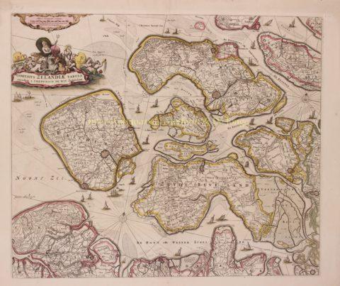 Zeeland – Frederick de Wit, ca. 1690