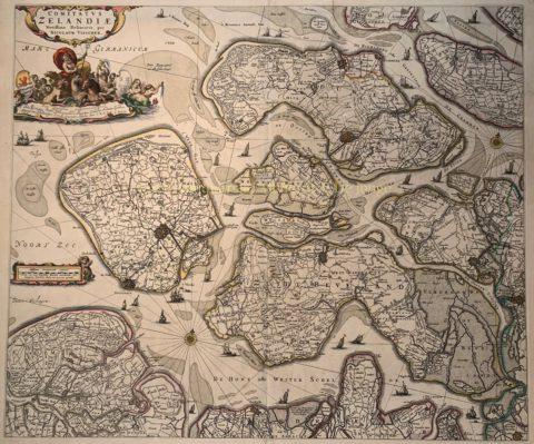 Zeeland – Nicolaes Visscher, after 1658