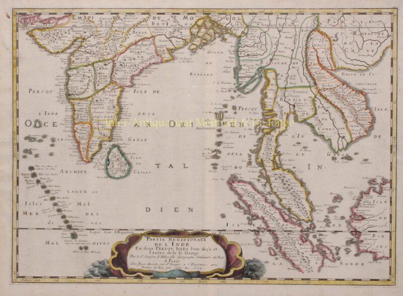 India, Southeast Asia – Nicolas Sanson, 1658-1670