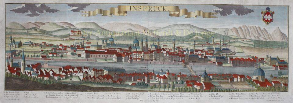 18th century view of Innsbruck