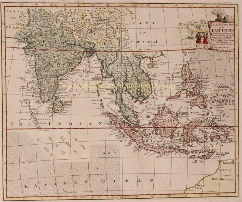 South-East Asia, East Indies – Emanuel Bowen, 1744