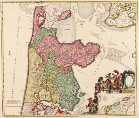 North Holland – Reinier and Josua Ottens, c. 1740