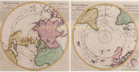 18th century northern and southern hemisphere