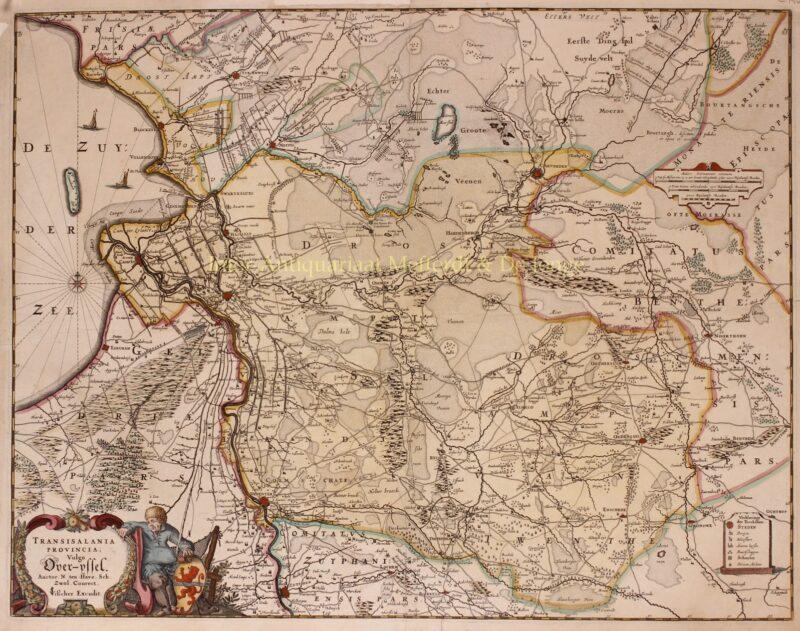 Overijssel – Claes Jansz. Visscher, 1652
