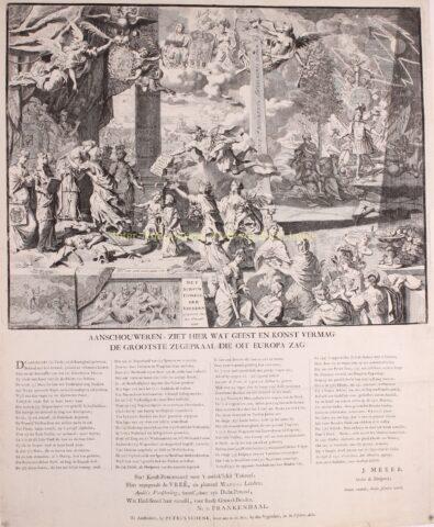 Treaty of Aachen – Pieter van den Berghe, Petrus Schenk, 1748