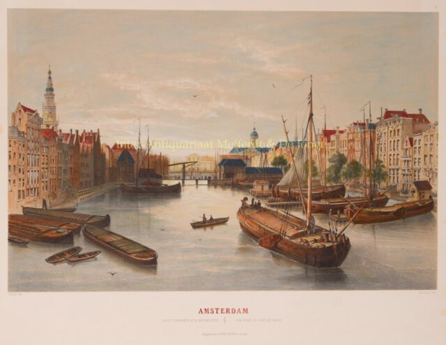 Damrak Amsterdam 19th century