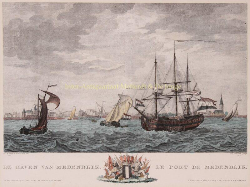 Medemblik – Matthias de Sallieth after Dirk de Jong,1802