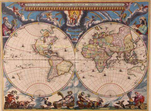 World – Joan Blaeu, 1662