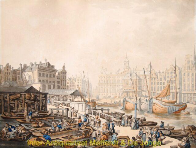 Dam Amsterdam - vismarkt