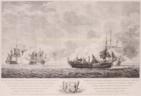 Battle of Cape St Mary (Action of 30 May 1781) – Matthias de Sallieth after Jan Kobell I, 1781