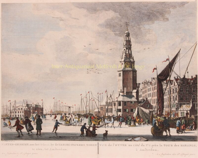 Amsterdam, IJ – Pierre Fouquet after Herman Schouten, 1769