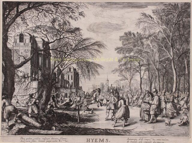 IJsvermaak in de 17e-eeuw