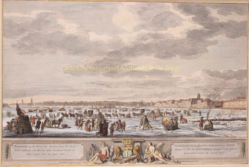 Rotterdam – ijsgezicht Robert Muys, Dutch winter scene