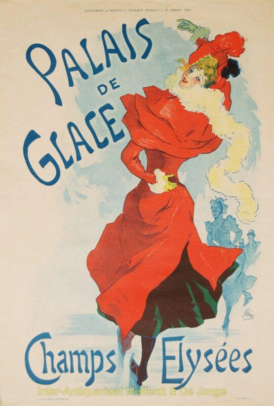 Palais de Glace – Jules Cheret, 1894