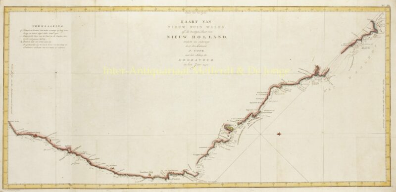 Australia, New South Wales – after James Cook, c. 1797