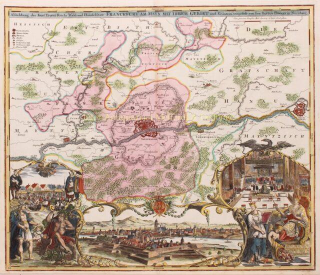 Frankfurt am Main c. 1715
