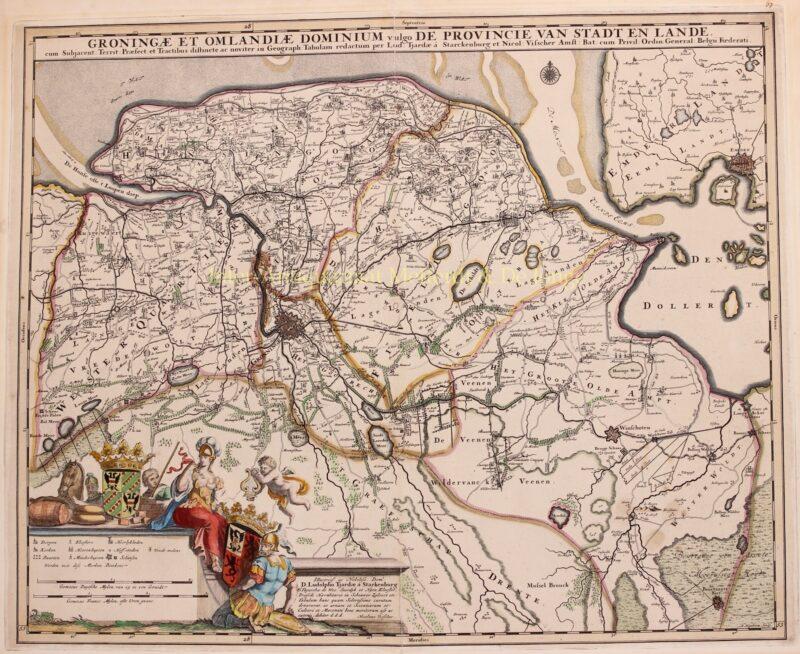 Groningen – Nicolaes Visscher, 1684