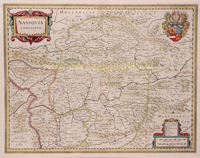 County of Nassau – Henricus Hondius, 1630